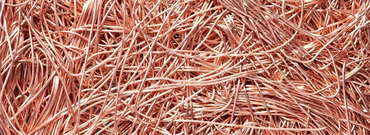 Scrap copper wire recycling